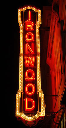 Ironwood Theatre - Ironwood Michigan